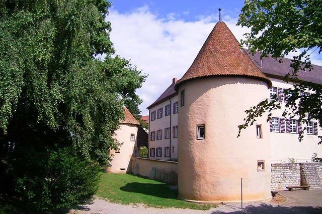 Hinter den Mauern des Wasserschlosses in Kirchhofen wohnte einst ein Haudegen