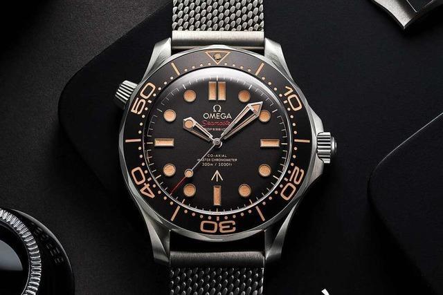 Bei Juwelier Nittel in Freiburg gibt es die neue James Bond-Uhr
