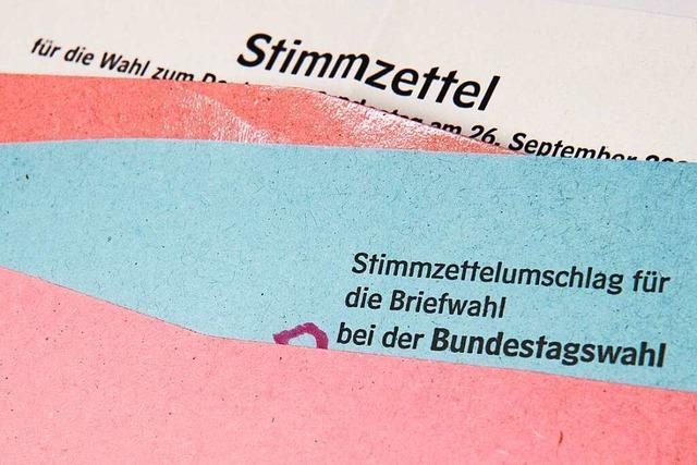 Die wichtigsten Informationen zur Bundestagswahl auf einen Blick