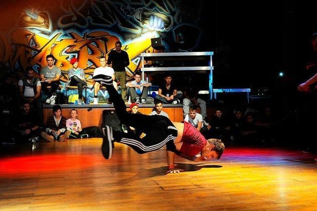Am Samstag battlen sich HipHop-Tänzer in Freiburg