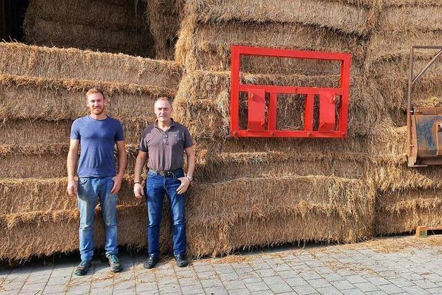 Umkircher Landwirte spenden Tierfutter für Kollegen im Ahrtal