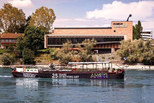 Nach elf Wochen ist die Kunstkreuzfahrt des Basler Tinguely Museums beendet
