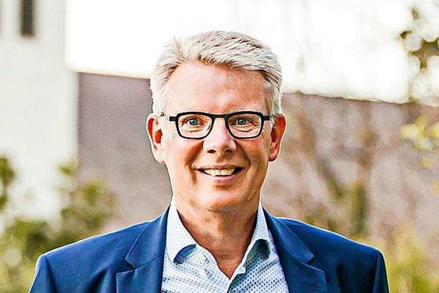 Gottenheims Bürgermeister Christian Riesterer tritt 2022 zur Wiederwahl an