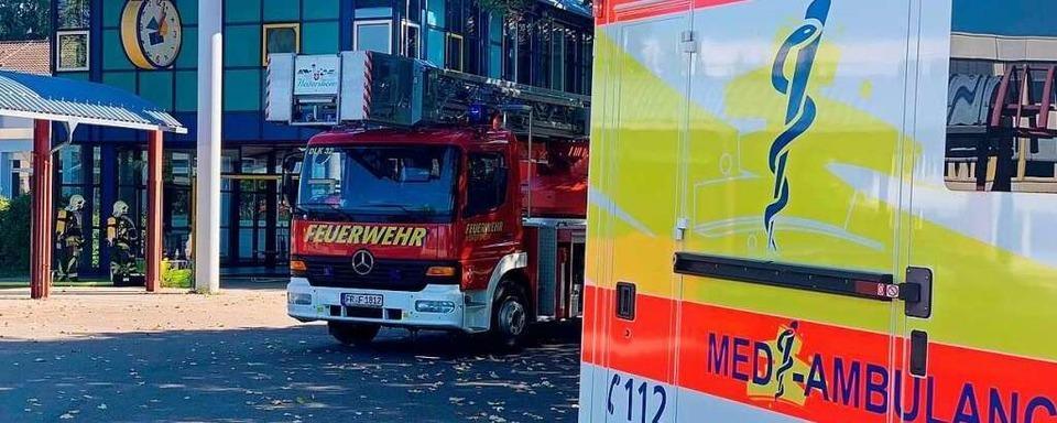 Kleinbrand in Heitersheim – 900 Schüler wurden evakuiert