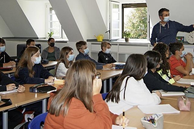 Schüler wollen ein Klassenzimmer im Wald bauen
