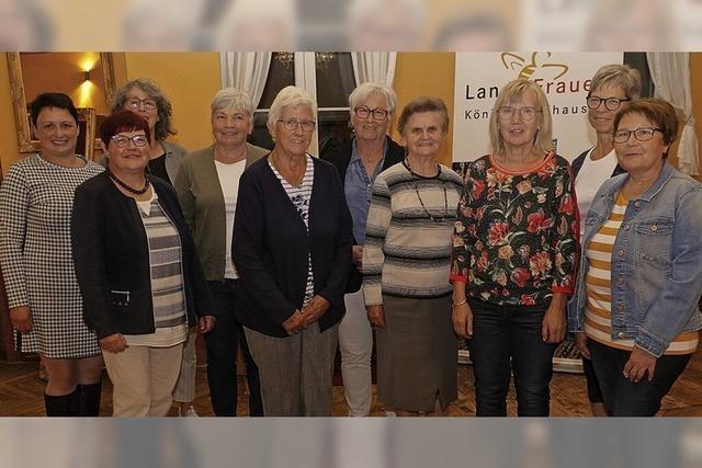 Landfrauen starten nach Corona neu