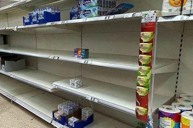 Großbritannien leidet unter Versorgungsproblemen