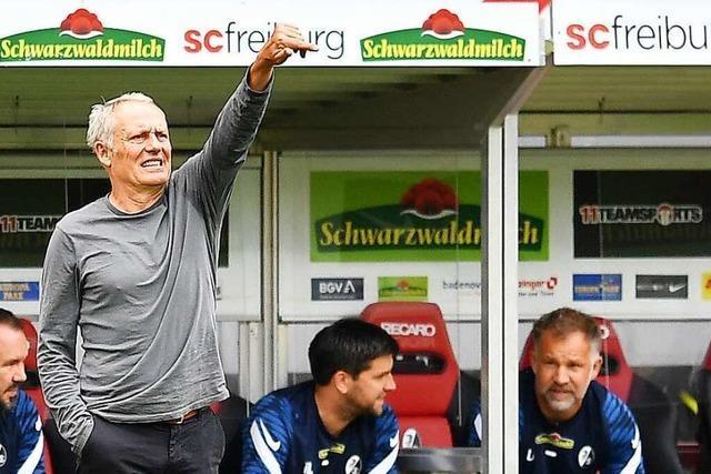 SC Freiburg spielt gegen FC Augsburg ein letztes Mal im Dreisamstadion