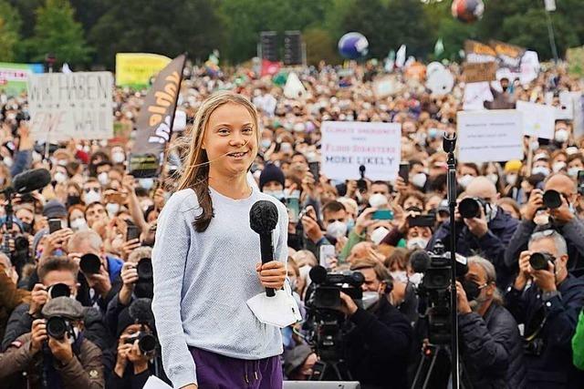 Hunderttausende setzen in Deutschland ein Zeichen für den Klimaschutz