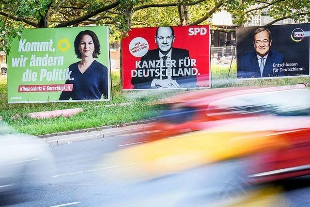 Vor der Bundestagswahl: Wohl dem, der die Wahl hat
