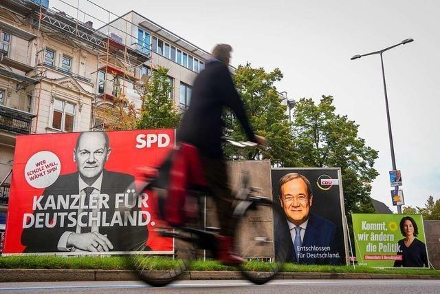 Achterbahnfahrt zur Macht: Das war der Wahlkampf 2021
