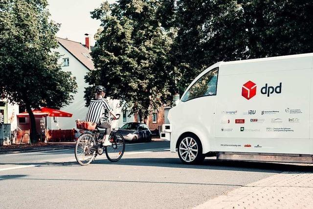 Wenn das Zustellauto eigenständig fährt – ein Zukunftsprojekt der Hochschule Offenburg