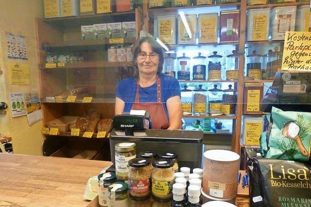 Hannelore Schäfer schließt nach 32 Jahren den Naturkostladen in Norsingen