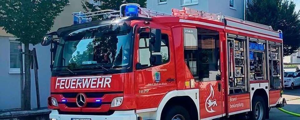 Drei Verletzte nach Wohnungsbrand in Weil am Rhein