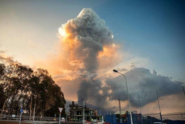 Flughafenbetrieb auf La Palma wegen des Vulkanausbruchs eingestellt