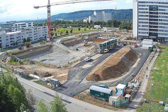 Neuer Campus von DSM erreicht in Kaiseraugst ein weiteres Etappenziel