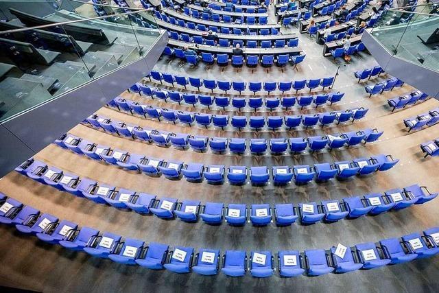 Nächster Bundestag könnte auf die Größe XXL anwachsen