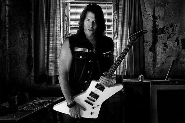 Jörg Graeter aus Grenzach-Wyhlen hat ein Metal-Album aufgenommen
