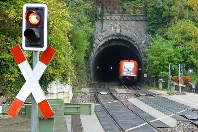 Das Ziel ist ein Ausbau der Hochrheinstrecke bis 2027