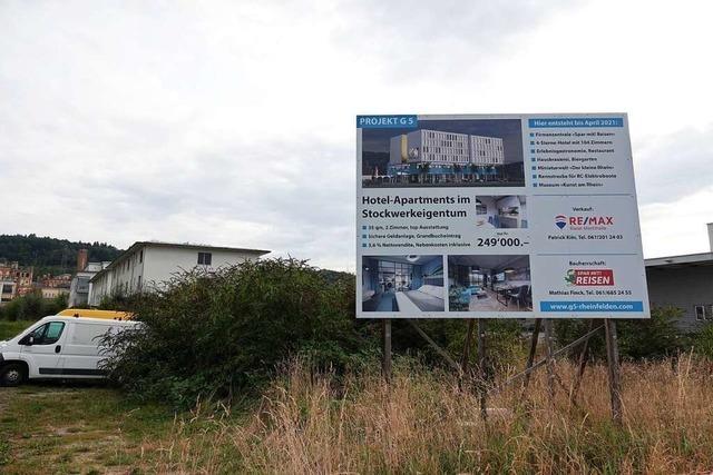 Ambitioniertes Hotel-Projekt in Rheinfelden/Schweiz wird aufgegeben
