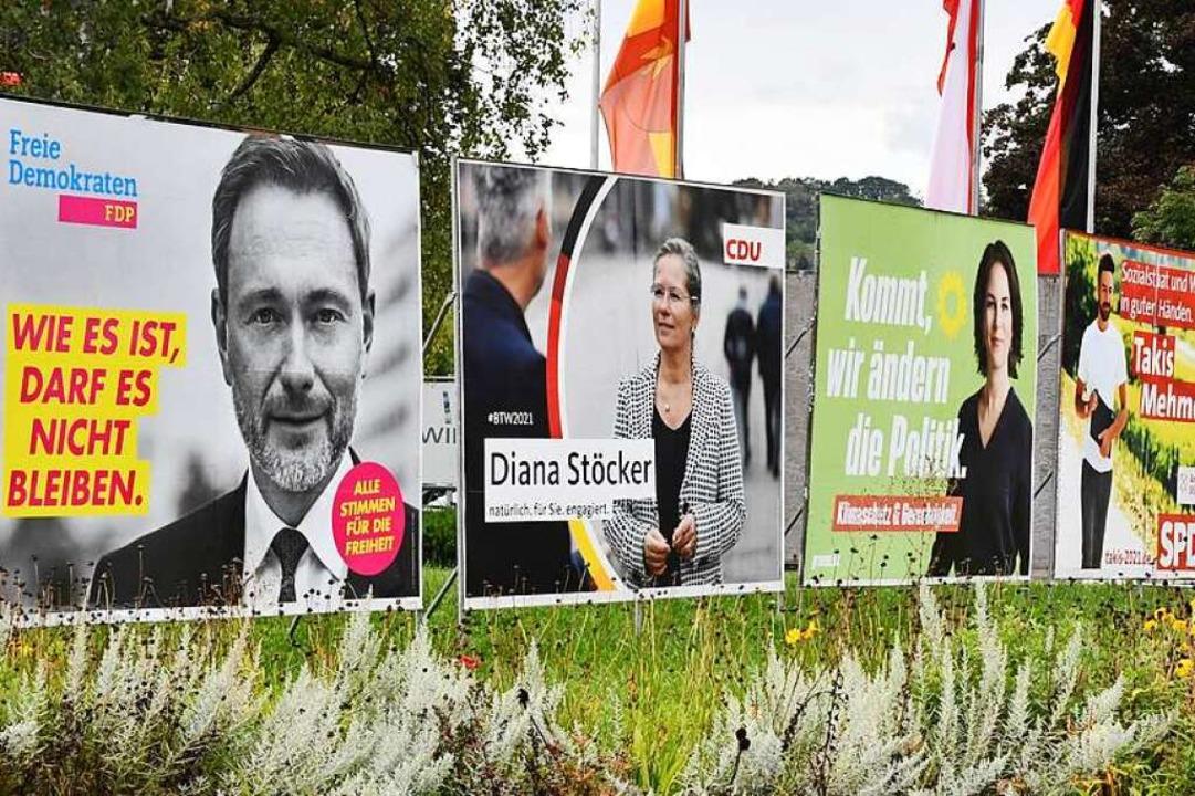 Heute müssen sich die noch unentschlossenen Wähler entscheiden.    Foto: Barbara Ruda