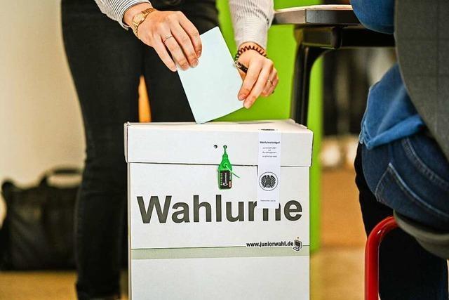 13 Kandidaten treten im Wahlkreis Lörrach-Müllheim an