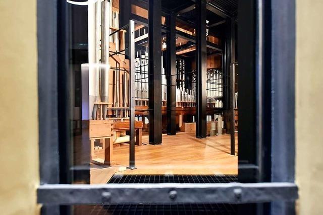 Im Freiburger Augustinermuseum gibt's einen Einblick ins Innere der Welte-Orgel
