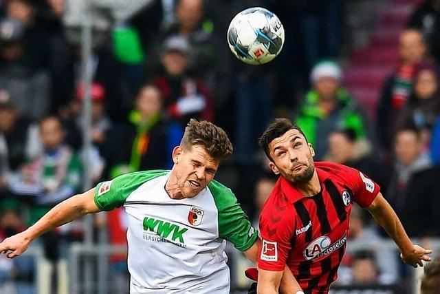 Selbstbewusste Augsburger wollen gegen den SC Freiburg punkten