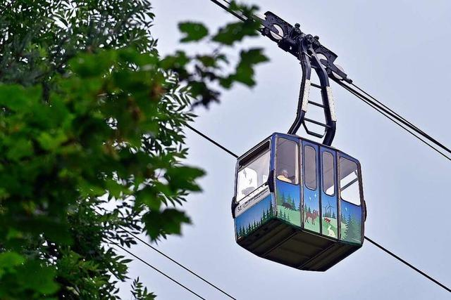 Bushaltestelle an der Talstation der Schauinslandbahn wird barrierefrei