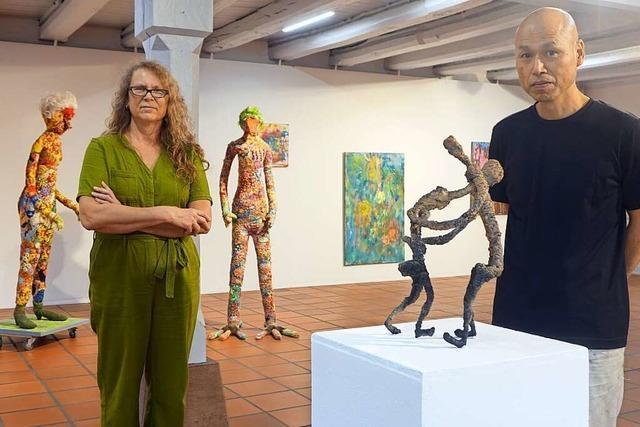 Kunstverein zeigt Arbeiten von Christine Fausten und Takakazu Takeuchi