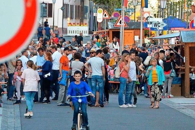 Fotos: Kenzingen feiert drei Tage lang beim