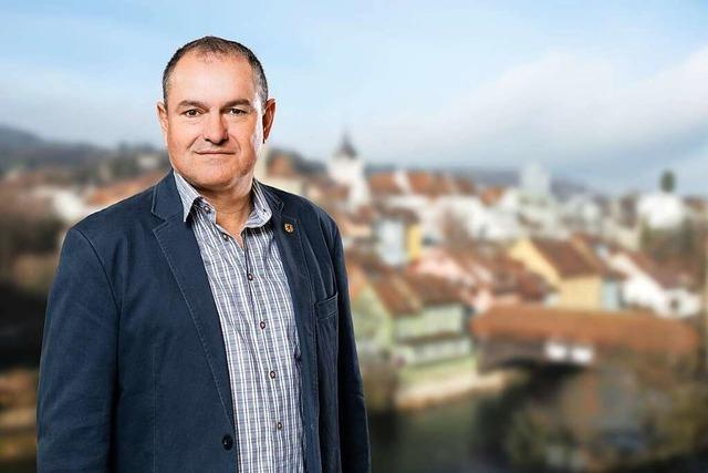 Herausforderer abgestraft, Weiss bleibt Stadtammann in Laufenburg