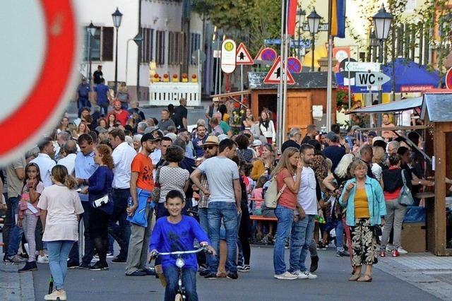 Herbstfest in Kenzingen