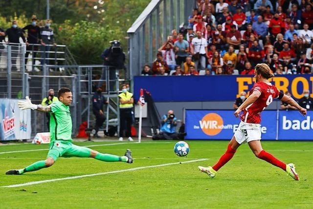 SC Freiburg verabschiedet sich mit einem 3:0-Heimsieg aus dem Dreisamstadion