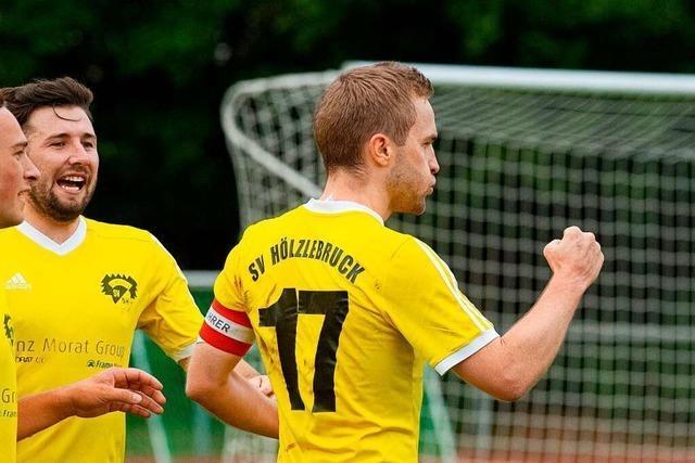 Durch 2:0-Sieg gegen Hochemmingen rückt der SV Hölzlebruck in Gipfelnähe