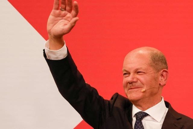 Liveticker: SPD gewinnt Bundestagswahl vor Union - Grüne auf Platz drei - Linke unter fünf Prozent