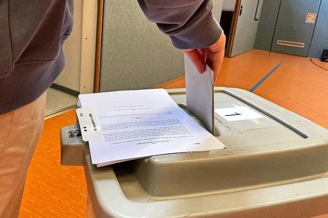 In Steinen überholt die SPD die CDU bei den Zweitstimmen