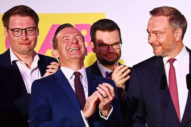 Die FDP will Regierungsverantwortung übernehmen