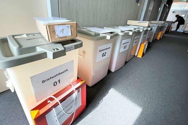 Die Kreishauptstadt Lörrach wählt Rot-Grün