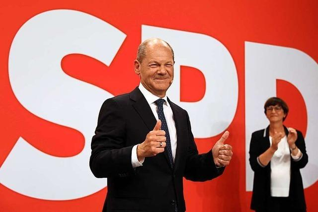 SPD wird wohl stärkste Kraft und beansprucht Kanzleramt für sich