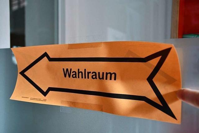 CDU trotz Einbußen vorne