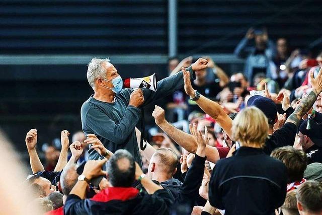 Fotos: Das letzte Spiel des SC Freiburg im Dreisamstadion