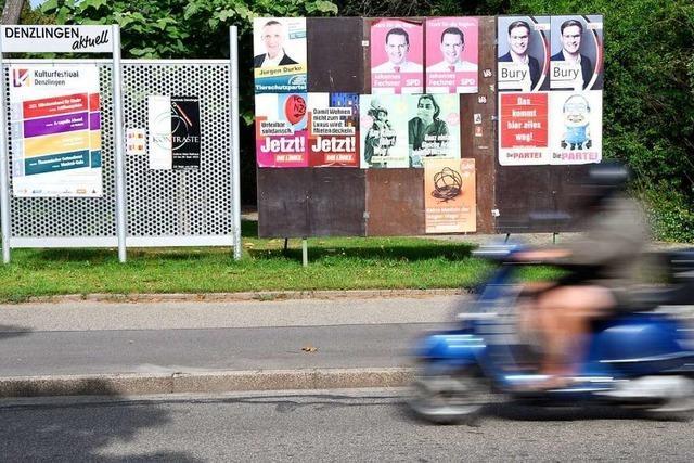 In Denzlingen holt die SPD die meisten Stimmen, in Vörstetten Bündnis 90/Die Grünen