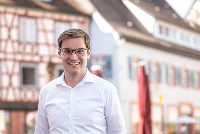 Yannick Bury (CDU) gewinnt knapp im Wahlkreis Emmendingen-Lahr