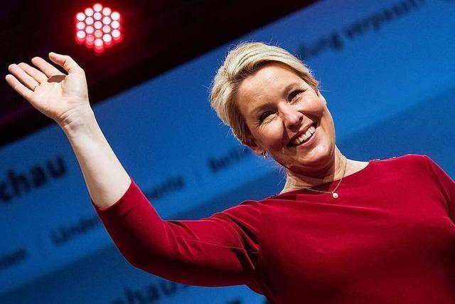Mit Giffey an der Spitze - SPD gewinnt Abgeordnetenhauswahl in Berlin
