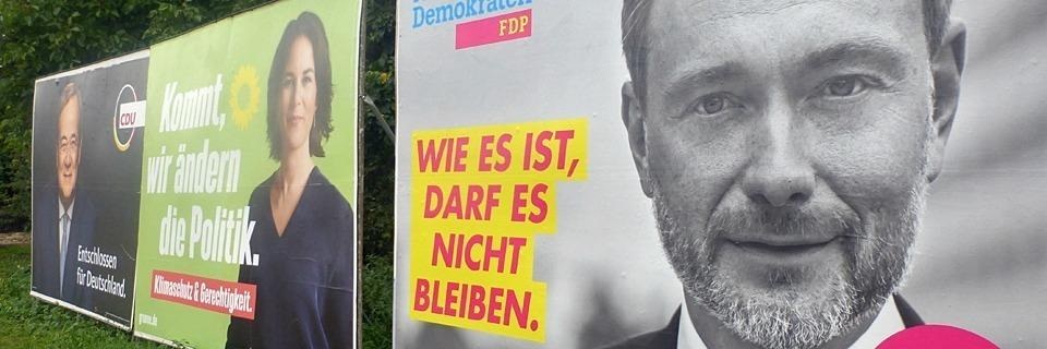 Grüne und FDP sind nun das Zünglein an der Waage