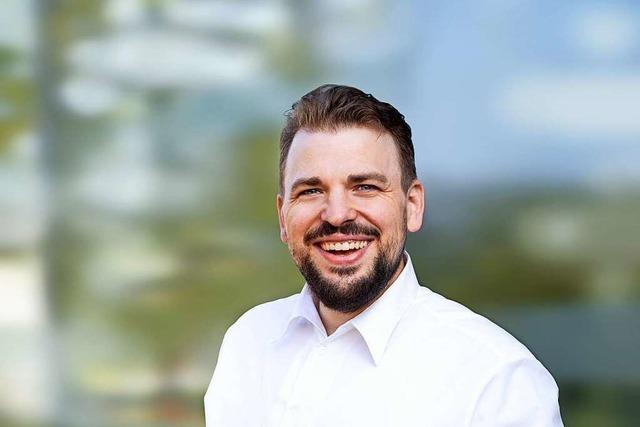 Auch Martin Gassner-Herz (FDP) gelingt im Wahlkreis Offenburg der Sprung nach Berlin