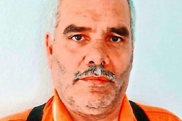 Die Freiburger Polizei sucht nach Mahmoud K.