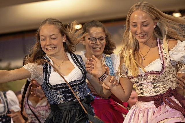 Musik und bayerische Kost