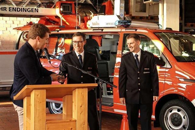 Neuer Vorausrüstwagen der Feuerwehr garantiert schnelle Hilfe